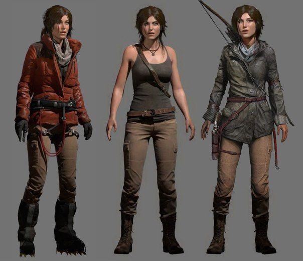 Rise Of The Tomb Raider 2015 Lara Croft Tomb Raider Outfits