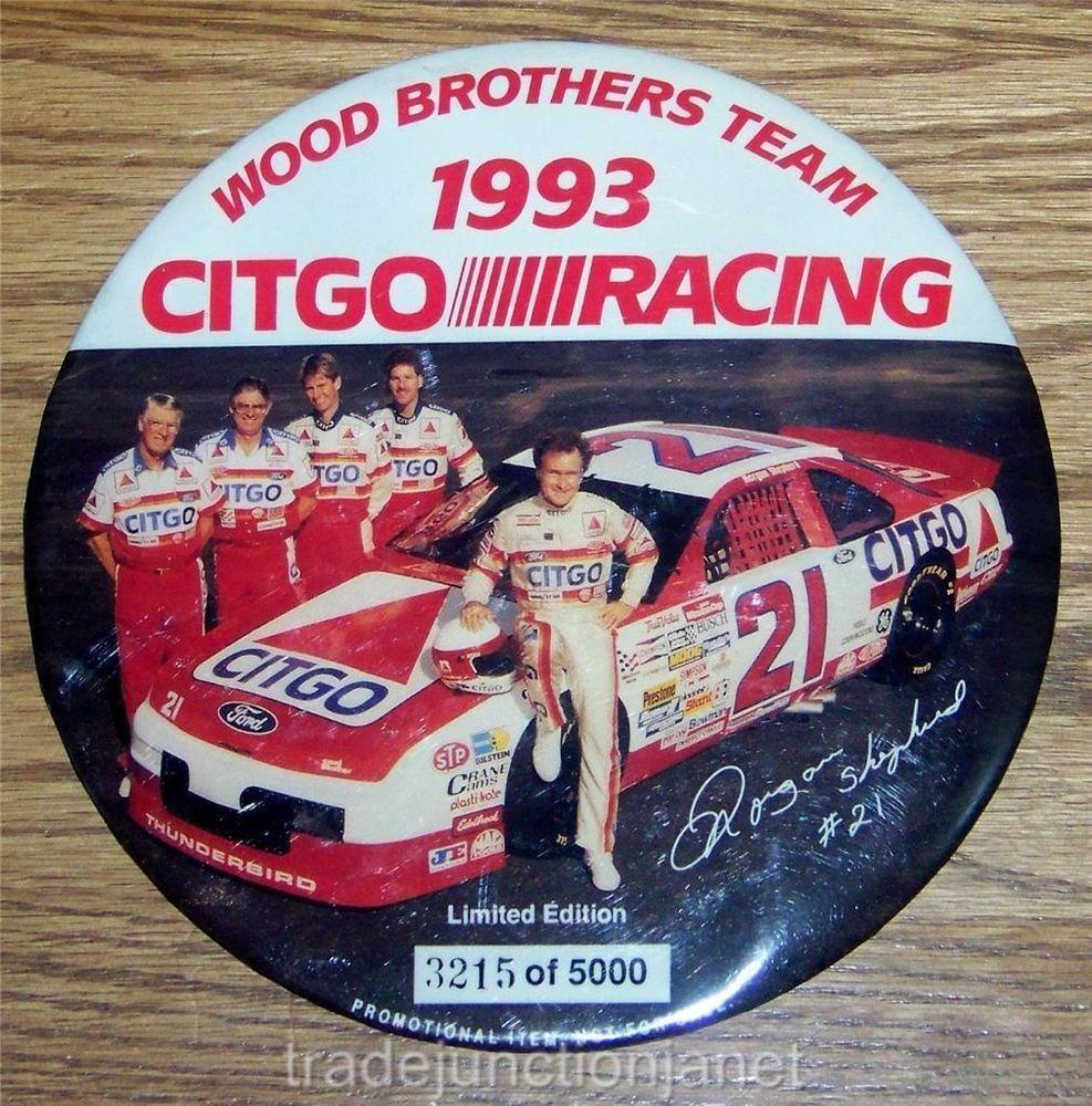 LE NASCAR PROMO 1993 CITGO RACING 21 SHEPHERD WOOD