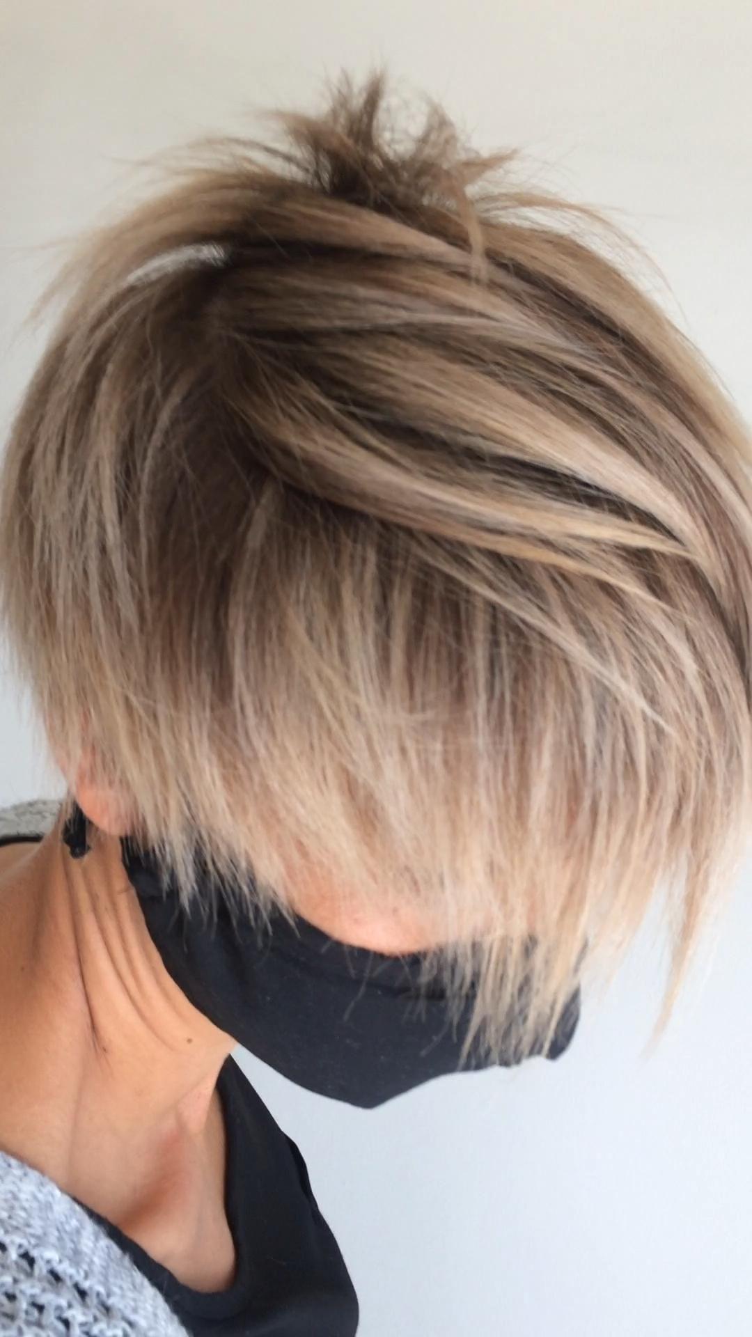 Blonde pixie haircut – Mi Hermoso Mundo