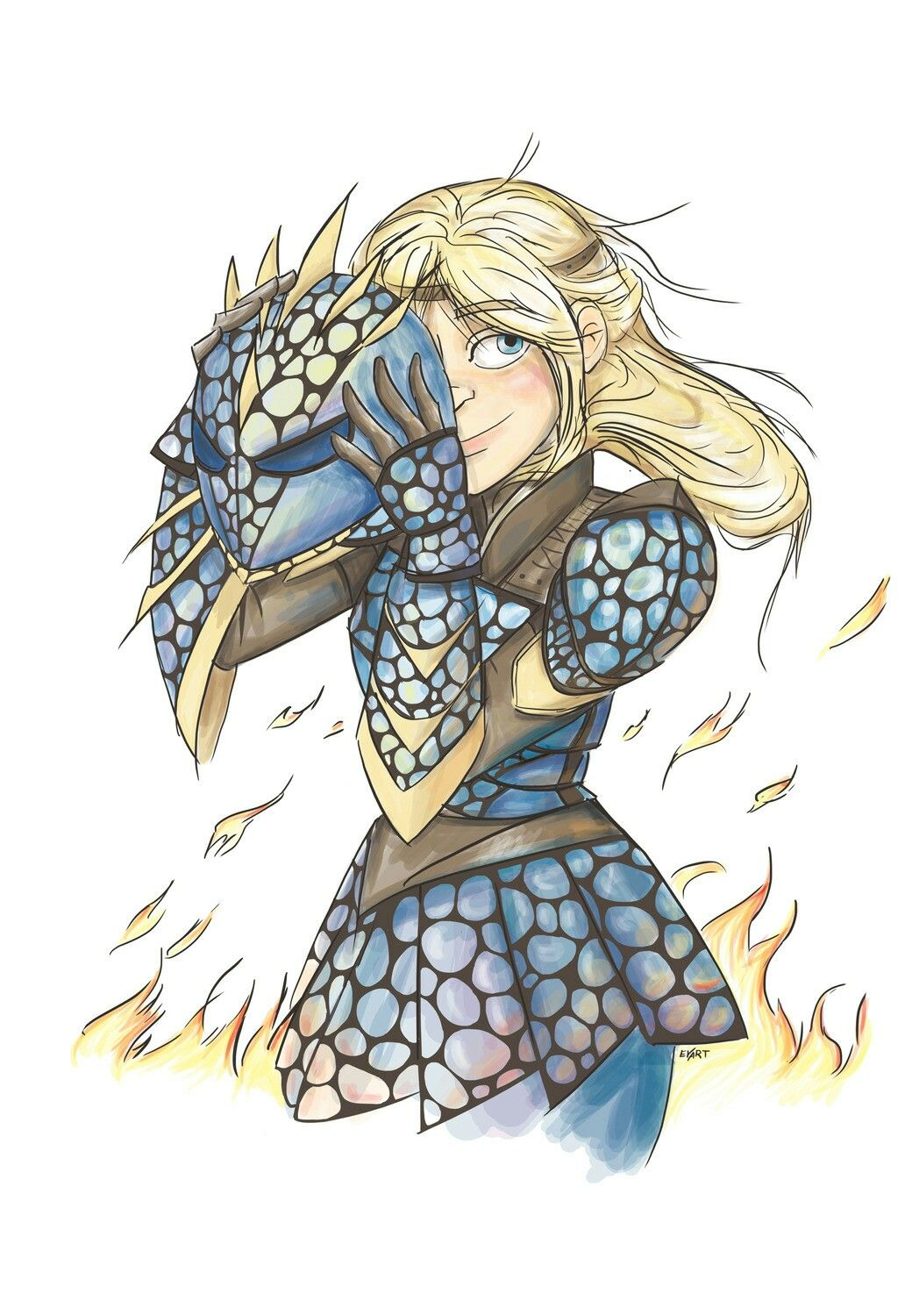 Astrid In Her Deadly Nadder Dragon Armor How Train Your Dragon How To Train Dragon How To Train Your Dragon In the first round of combat, the night fury has advantage on attack night fury in flight source. pinterest