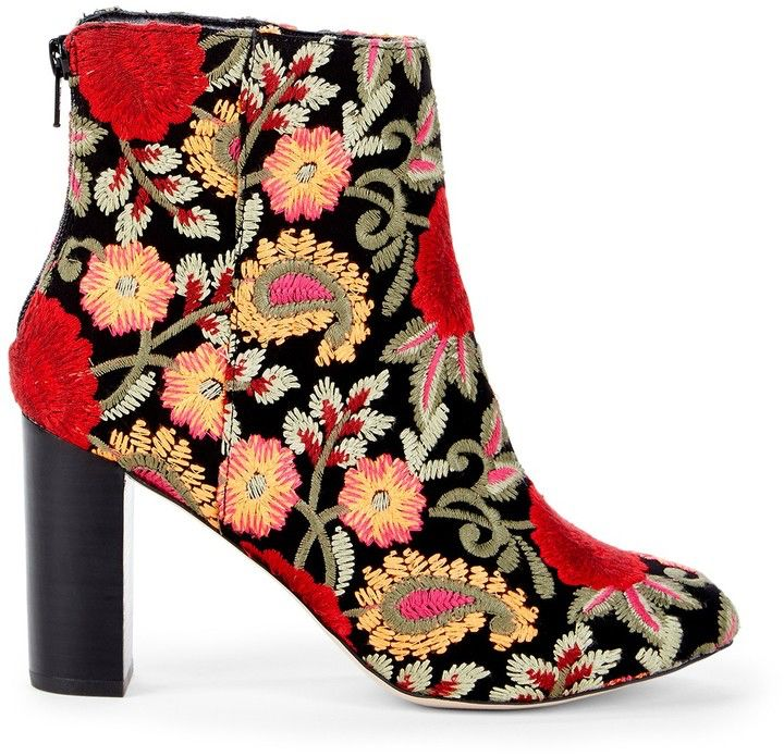 9628a519f581 Olympia Embroidered Bootie