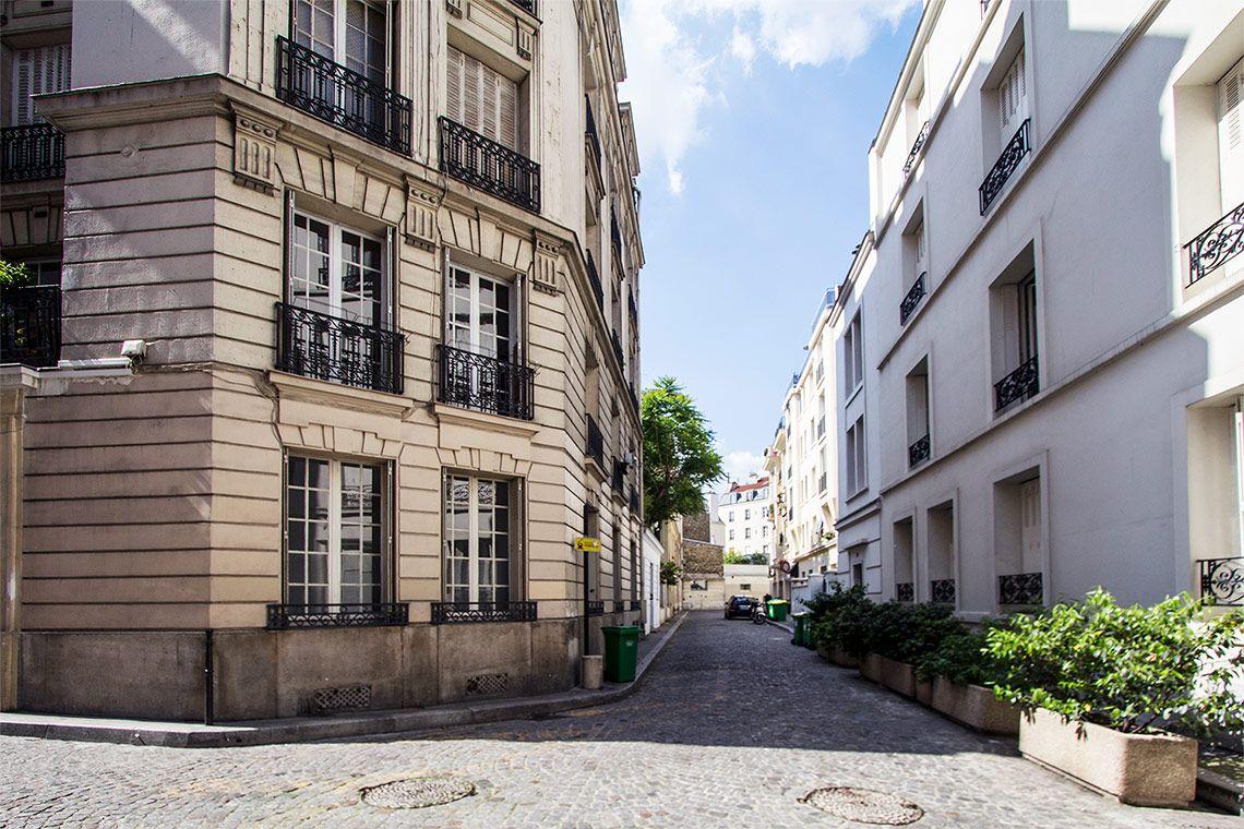 Passage Doisy ntre le 55 avenue des Ternes et le 18 bis rue d ...