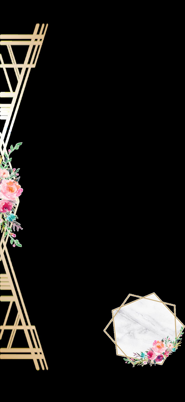 تقويم تاريخ ذهبي 2019فلتر زواج Sticker By Mesh 8mr Floral Wallpaper Phone Phone Wallpaper Design Floral Cards Design