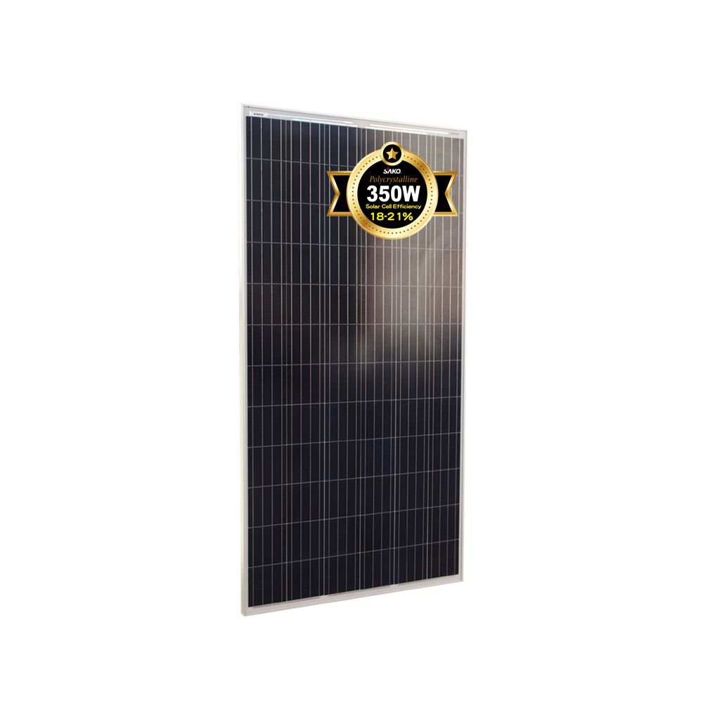 High Efficiency Poly Solar Panel Pv Module 350 Watt View 350w Polycrystalline Solar Panel Pv Module Sako Tedepe Product Details From Shenzhen Sako S