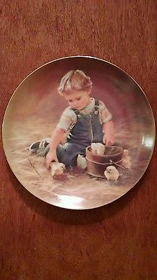 """""""Special Friends"""",  Hamilton Collection Limited Edition 1984 collector plate"""