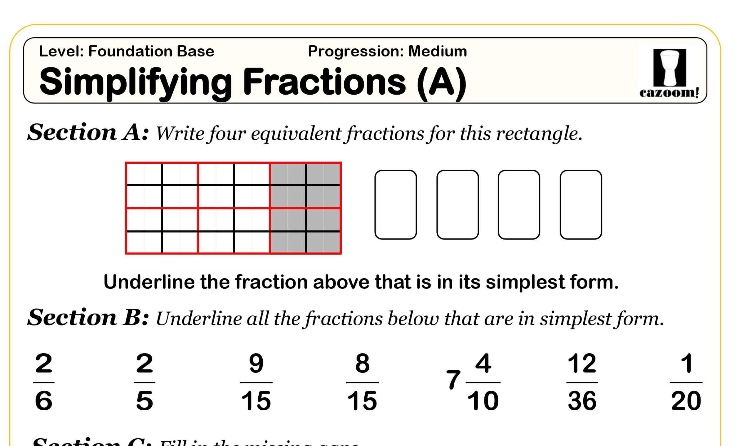 Pin op Math Worksheets