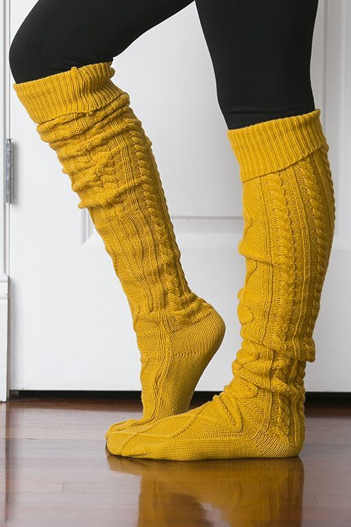 759bb09c88 Tall Cable Knit Boot Socks (Several Colors) | Socks, tights ...