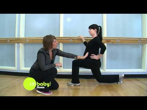 f291771adae7 ▷ Oh Baby Fitness - Pregnancy Exercise - Lunges - YouTube