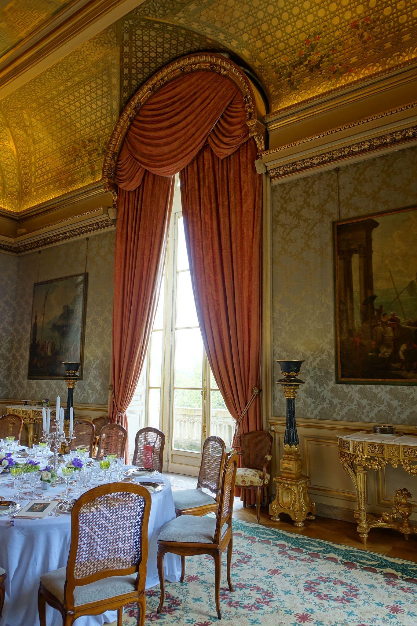 Internal Affairs Interior Designers: Dining Hall @ Quai D'Orsay @ Ministry Of Foreign Affairs