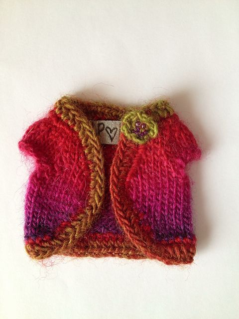 Free Shrug for Blythe pattern by Jane Pierrepont | Dollies ...