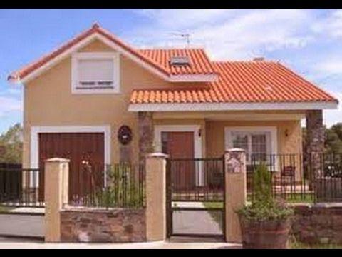 Fachadas de casas sencillas y bonitas YouTube 5657