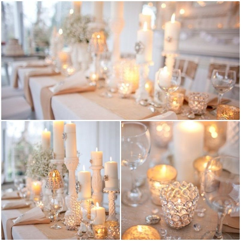 Wedding centerpieces with candles candle centerpiece