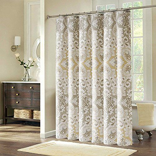Shower Curtain Extra Long Wide Shower Curtain Set Paisley Shower Curtain 78 34 X 84 34 Inches For Home Bathro Long Shower Curtains Designer Shower Curtains