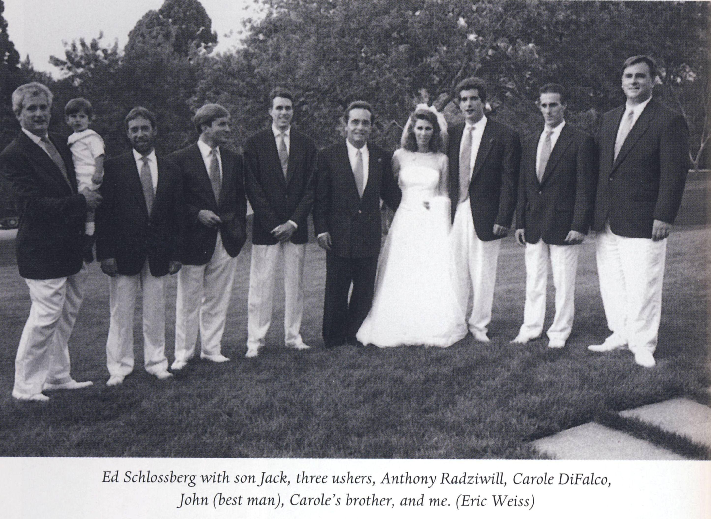 Wedding Of Anthony And Carole Radziwill