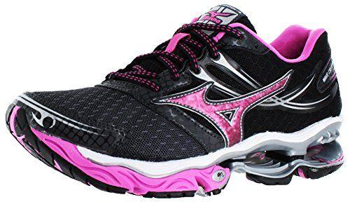 Mizuno Wave Creation 14 Women's Running Shoes Sneakers Black Size 7 Mizuno  http://