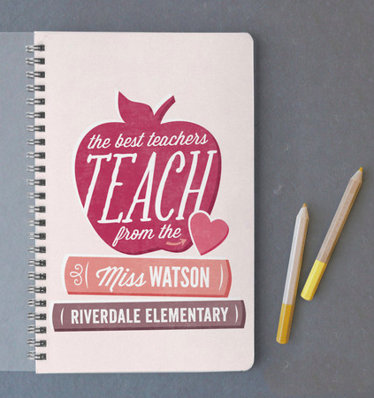59add8537b8 Surprise your favorite teacher with customized stationery. Shop Gifts for your  teacher from Minted.