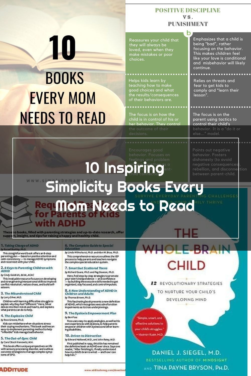 These 10 must-read books will change the way you look at life and motherhood.   Must-read books for moms   Must-read books for parents   Life-changing books   Books every mom needs to read   Reading list   Books for moms to read   #readinglist #mustreadbooks #mustreadbooksformoms #lifechangingbooks #goodreads #minimalistmotherhood #simplifymotherhood