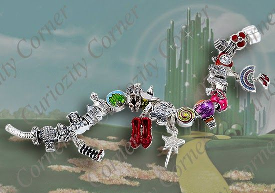 wizard of oz charms for bracelets | Helzberg Diamonds Wizard of Oz 75th Anniversary Beads Additions