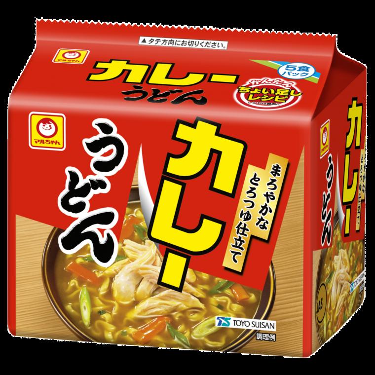 Photo of カレーうどん 甘口 5食パック | 商品情報 – 東洋水産株式会社