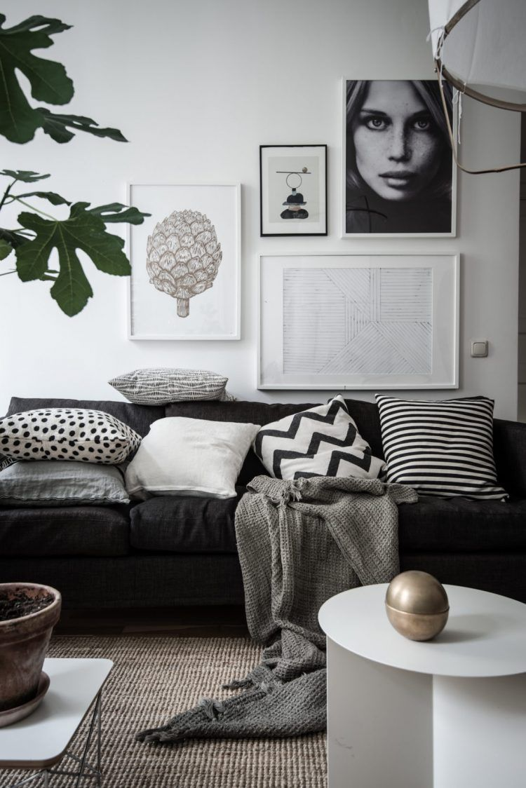 8 Clever Small Living Room Ideas With Scandi Style Diy Home Decor Your Diy Family Monochrome Living Room Living Room Scandinavian Scandinavian Design Living Room