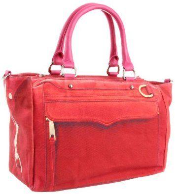 # Rebecca Minkoff Canvas Mab Top Handle Bag