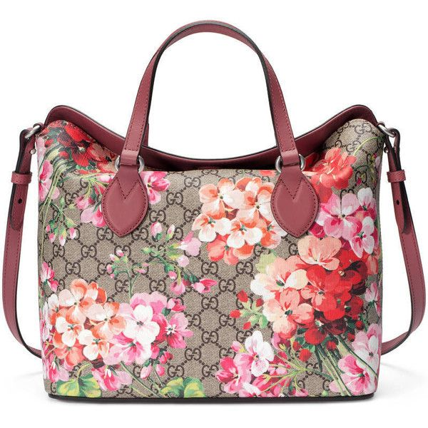 Gucci Gg Blooms Top Handle Bag 1 185 Liked On Polyvore