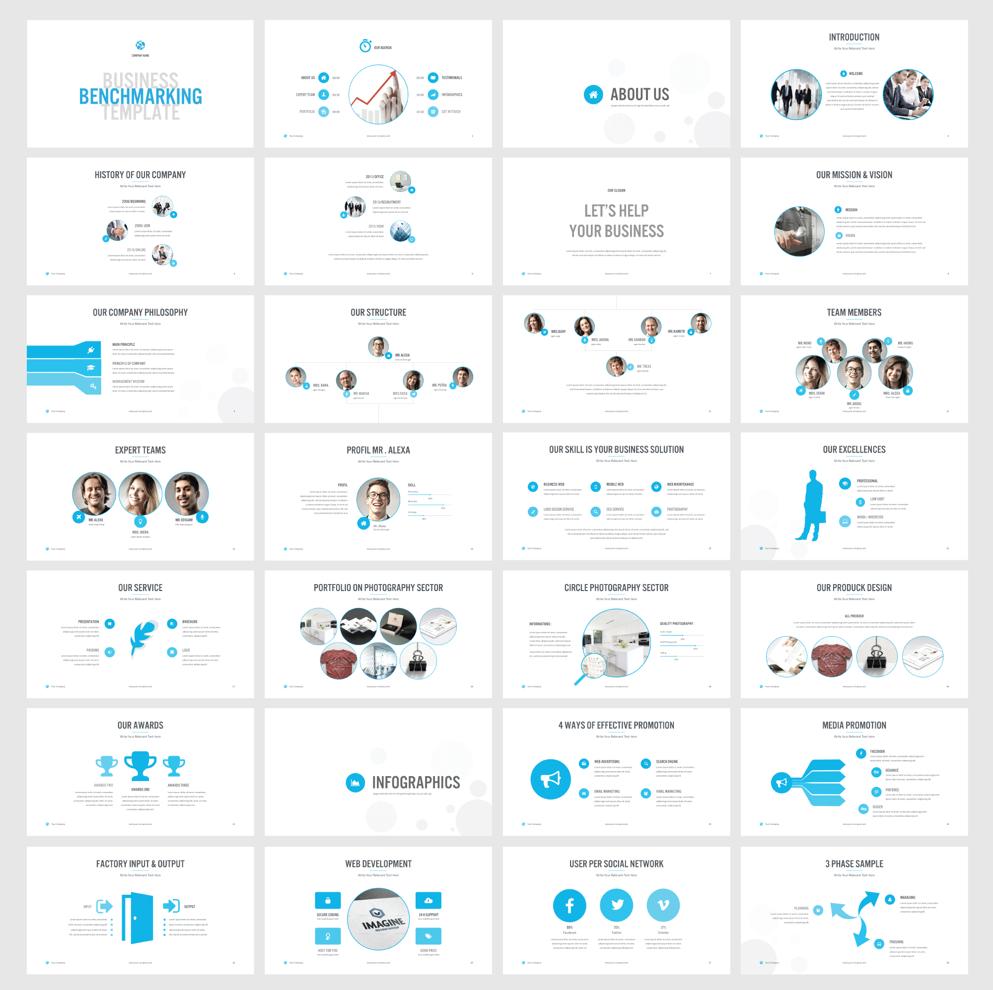 Benchmarking powerpoint template by shafura on creative market benchmarking powerpoint template by shafura on creative market toneelgroepblik Images