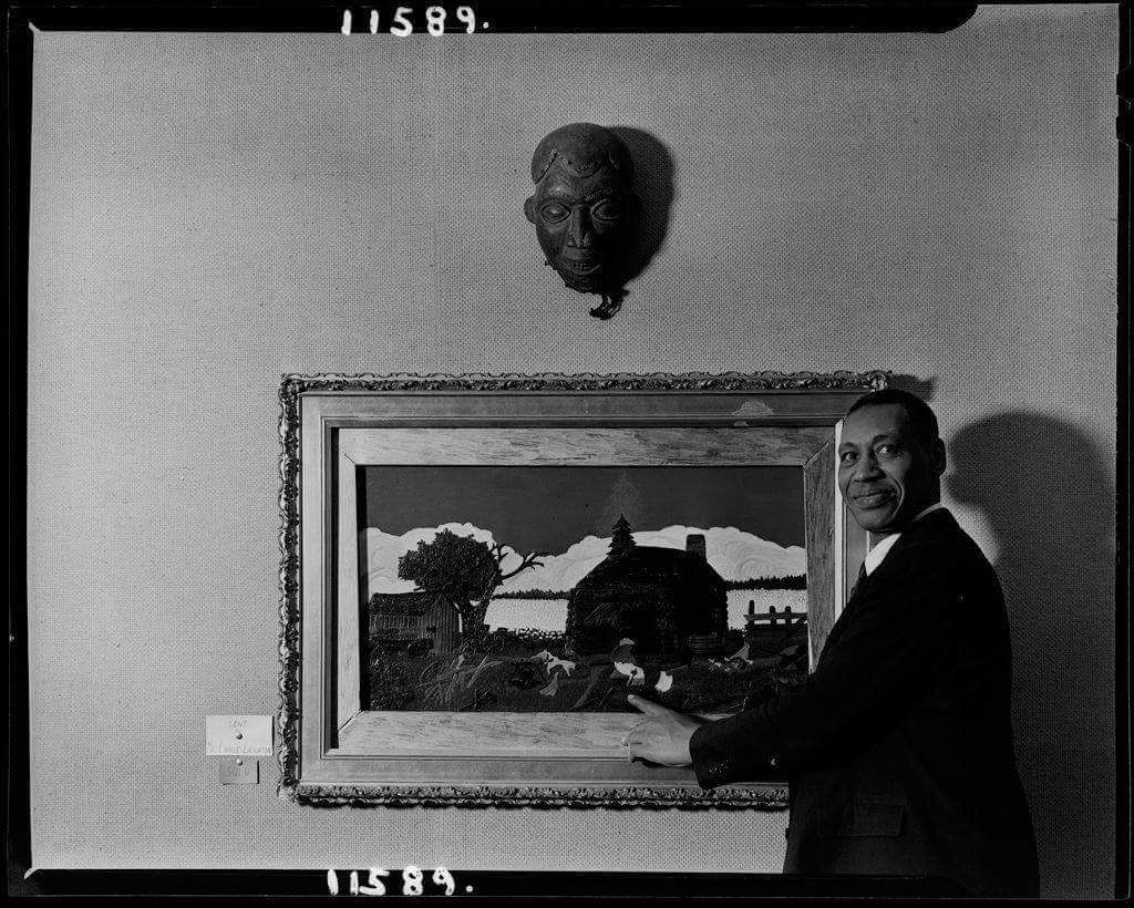 هوراس بيسين أشهر رسام في تاريخ أمريكا عانى من الفقر في شبابه لدرجة لم يملك يوما أجرة الحلاقة فاتفق مع الحلاق على إعطائه لوحة بق Art Harvard Art Museum Painting