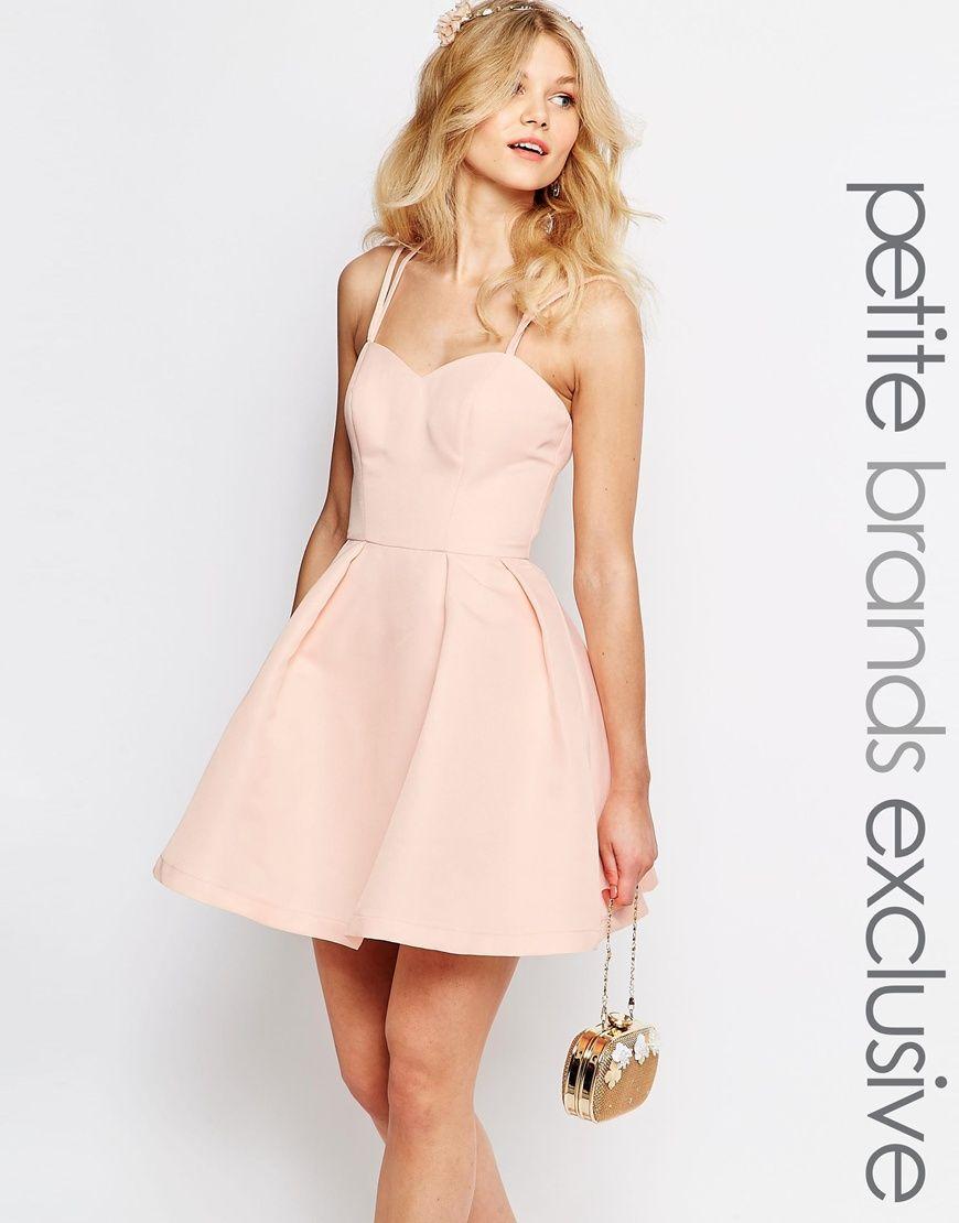 Chi-Chi+London+Petite+Sateen+Strappy+Back+Prom+Mini+Skater+Dress ...