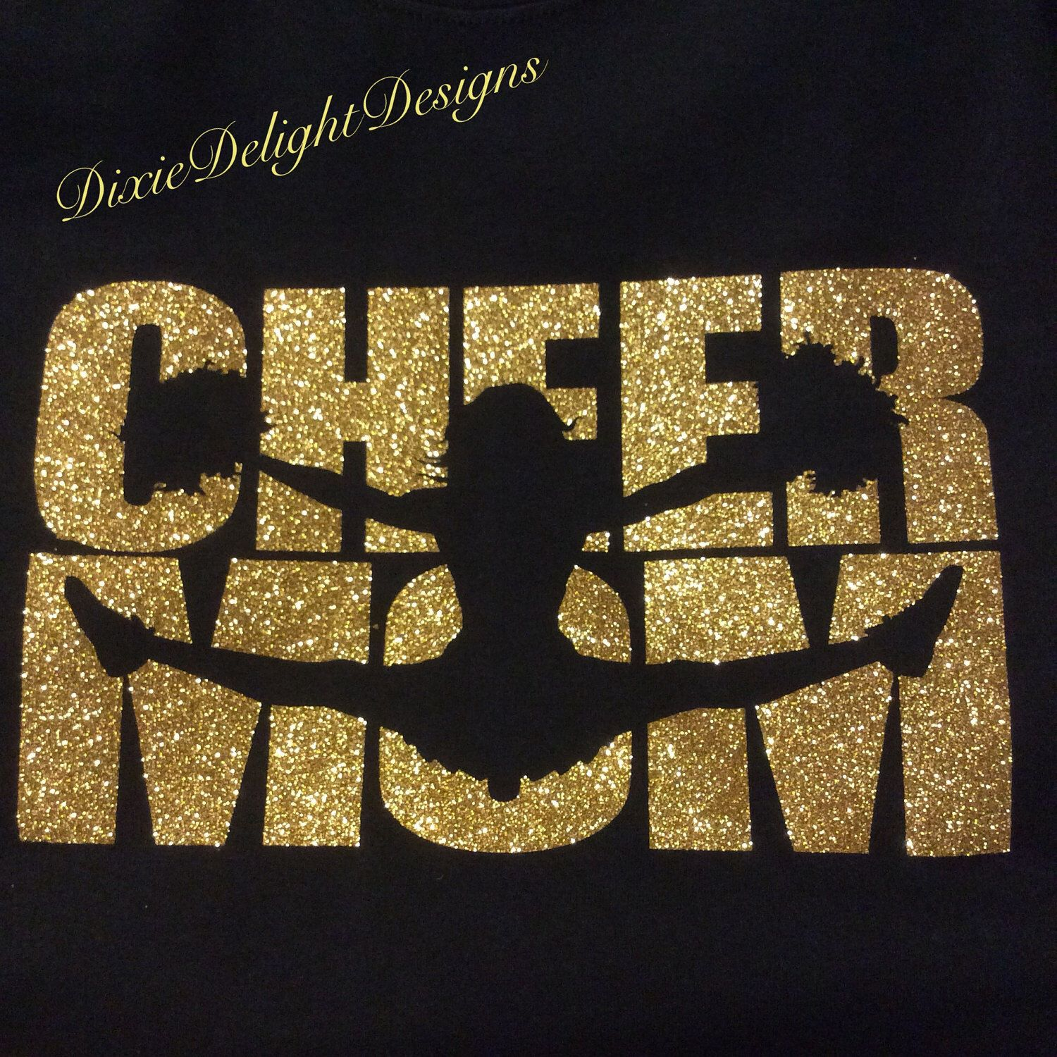 Cheer Mom Shirt - Customize Your Colors! by DixieDelightDesigns on ...