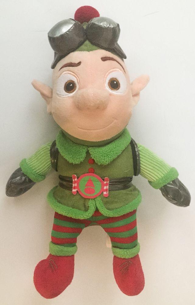 Hallmark Disney Prep And Landing Wayne Elf Plush Doll Stuffed