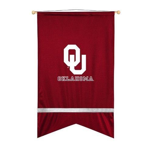Oklahoma Sooners Sidelines Wall Flag