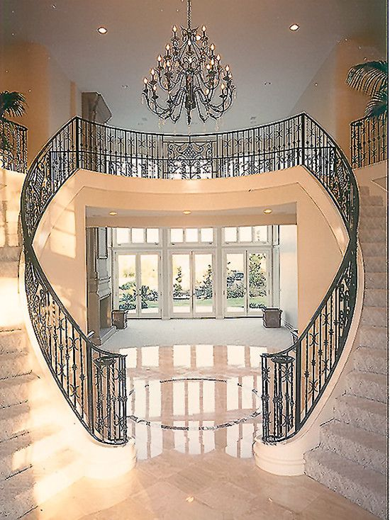 Best Mediterranean Entry Stairs Design Pictures Remodel 400 x 300