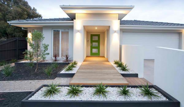10 Ways to Improve Your Home's Curb Appeal   Modern front ...