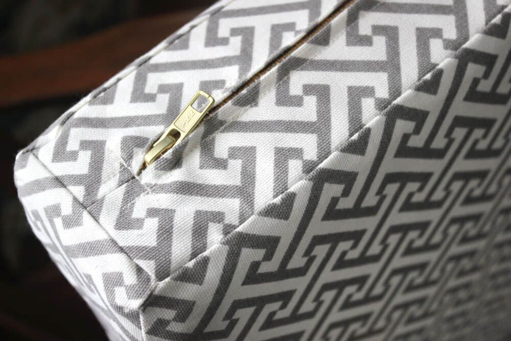 How To Make Box Cushions With A Zipper Recipe With Images