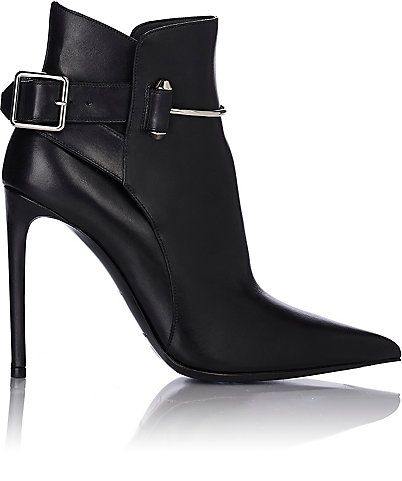 Balenciaga Pierced Ankle Booties - Ankle Boots - Barneys.com