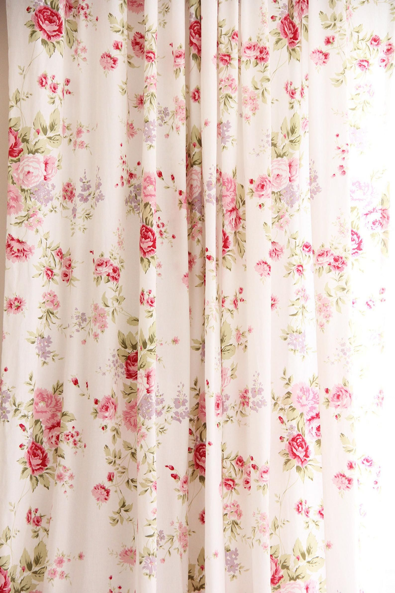 White Pink Romance Farmhouse Cottage French Country Shabby Etsy In 2020 Shabby Chic Rose Curtains Shabby Chic Curtains Shabby Chic Diy