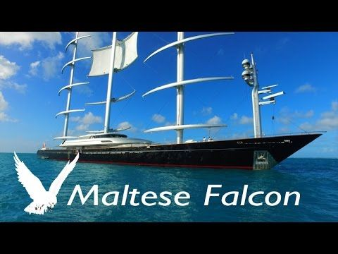 Super Yacht Maltese Falcon Largest Sailboat Webeyachting Com Youtube In 2020 Maltese Falcon Yacht Super Yachts Yacht
