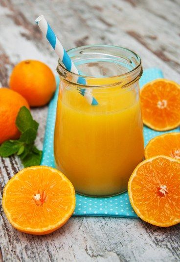 Koktajl Odchudzający Grejpfrutowo Pomarańczowy Koktajle