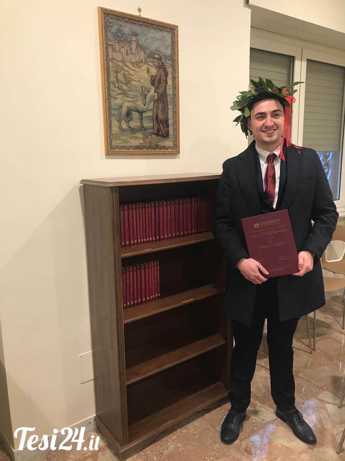Congratulazioni Ernesto! Università degli Studi Niccolò ...