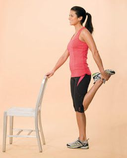 Jtwellbeing Standing Quadriceps Stretch Daily Stretches Quad Stretch Running Music