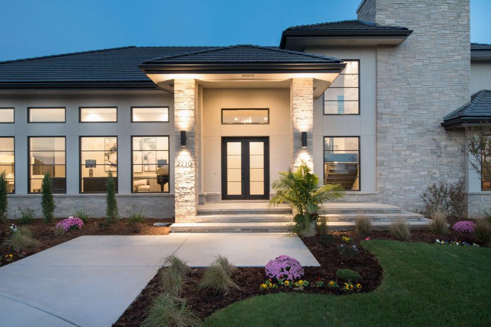 flint hills modern prairie andover ks contemporary on modern house designs siding that look amazing id=83683