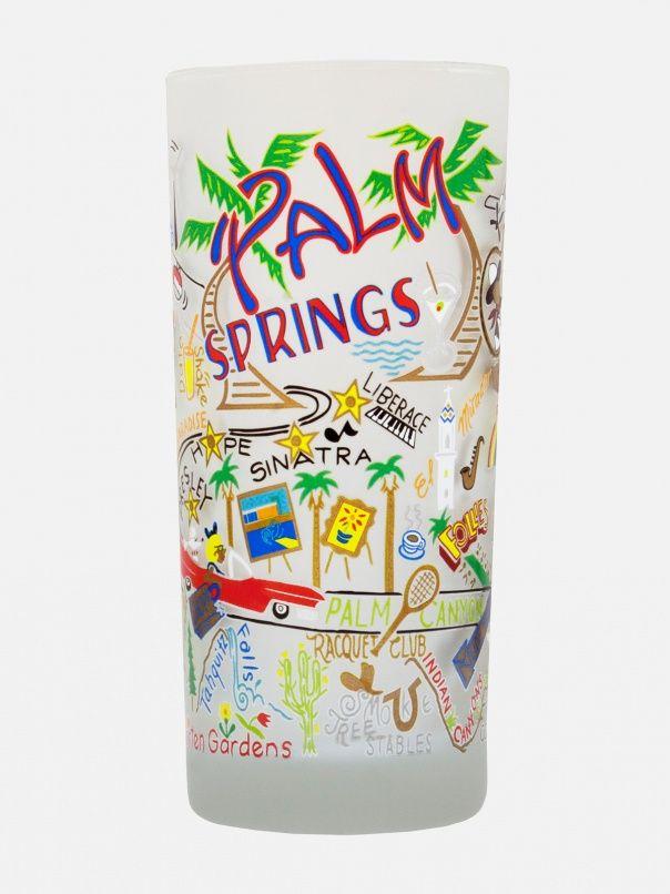Palm Springs Glass by Catstudio - ShopKitson.com