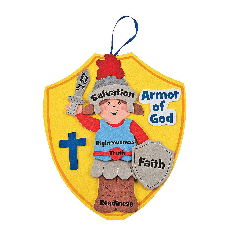 Full Armor Of God Craft Ideas
