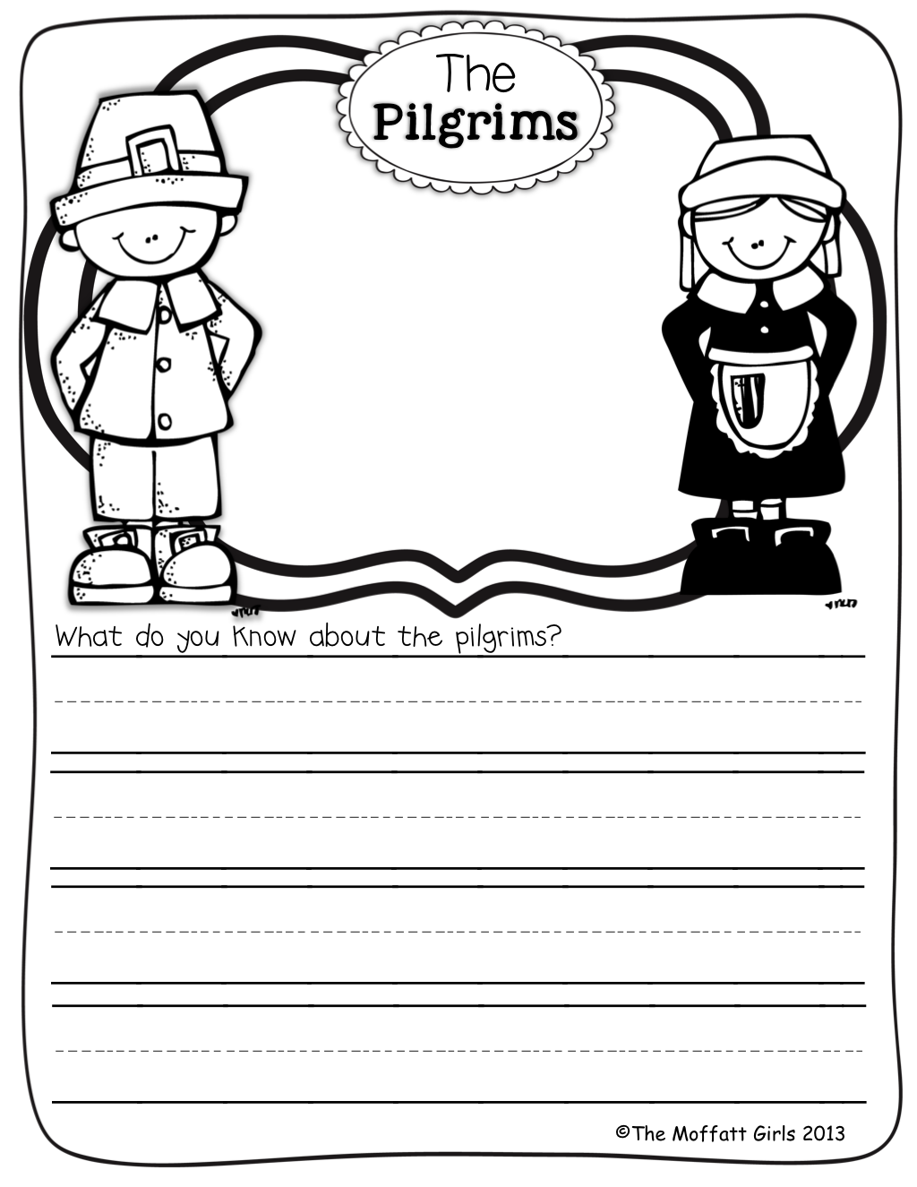 Journal Prompts For The Month Of November This Is Such A Great Way To Get Kids To Write On A
