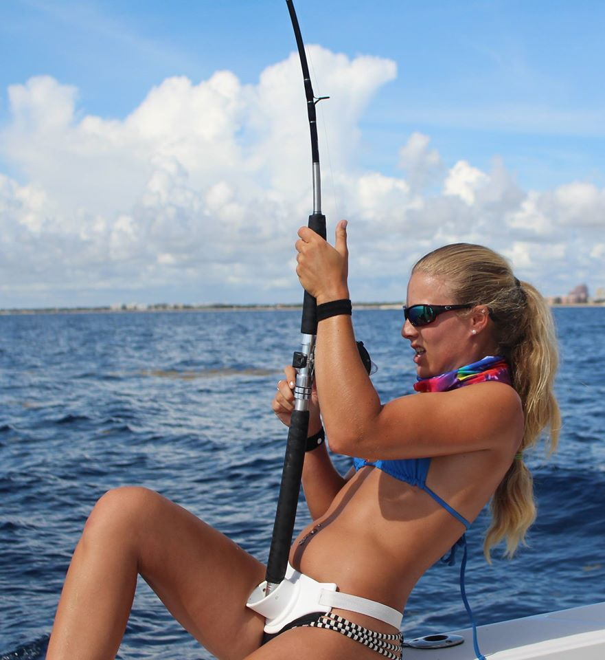 Badass babes spear fishing while naked and visit the crocs - 1 4
