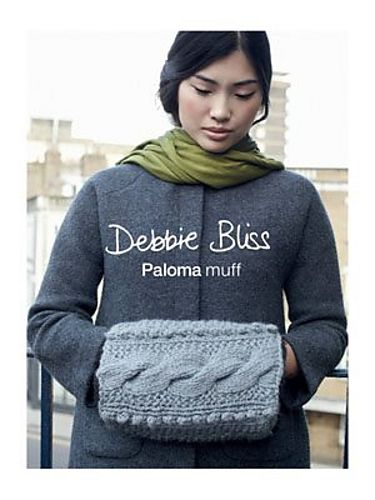 Two free knitting patterns cowl and muff in debbie bliss paloma beautiful hand warming muff by debbie bliss free pattern http dt1010fo