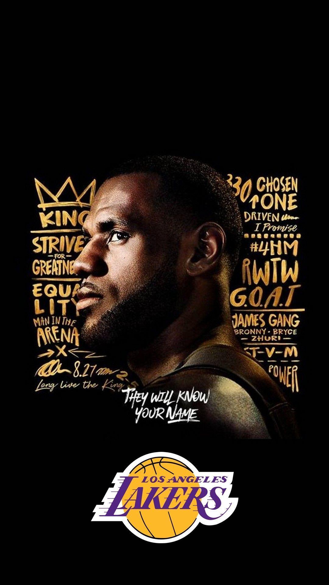LeBron James Lakers Wallpaper iPhone HD   2020 Basketball ...