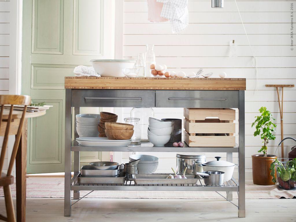 Con la mesa RIMFORSA puedes tener la cocina perfectamente