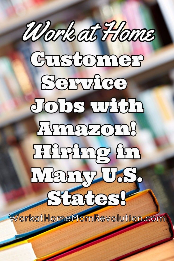 Work At Home With Amazon Hiring Customer Service Reps Working From Home Customer Service Jobs Work From Home Moms